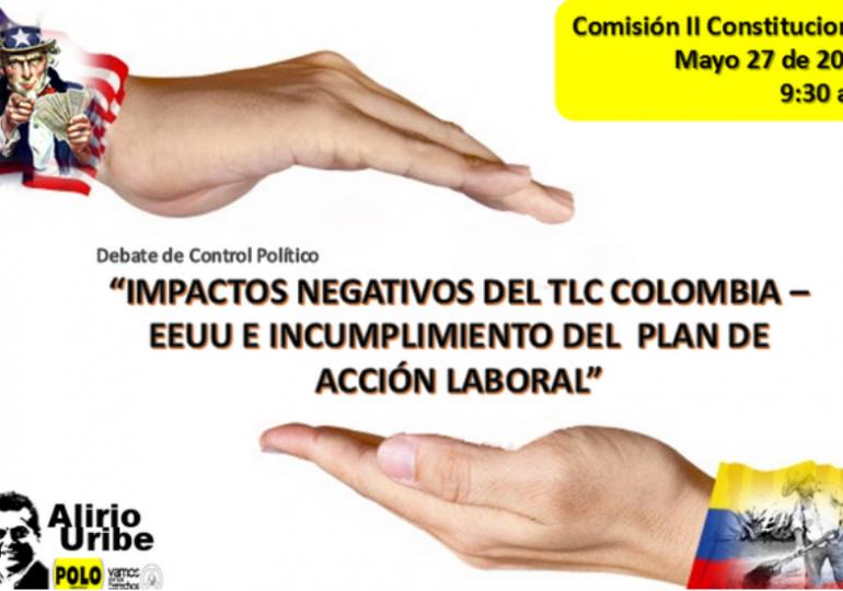 Plan de Acción Laboral, otra promesa incumplida del TLC Colombia-EEUU
