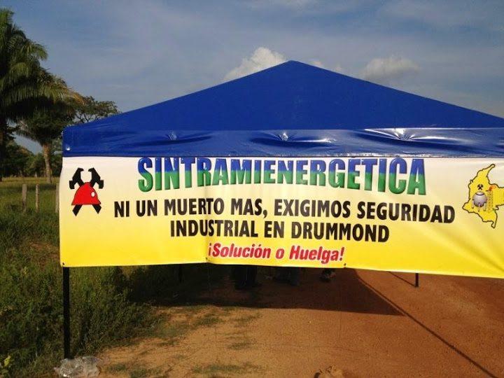 Sindicalistas exigen la verdad sobre responsabilidad de Drummond en asesinatos