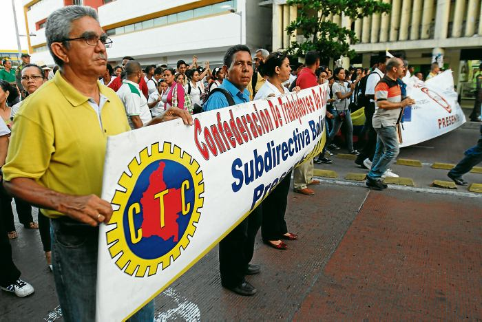 Pensionados marchan desde Cali hasta Bogotá