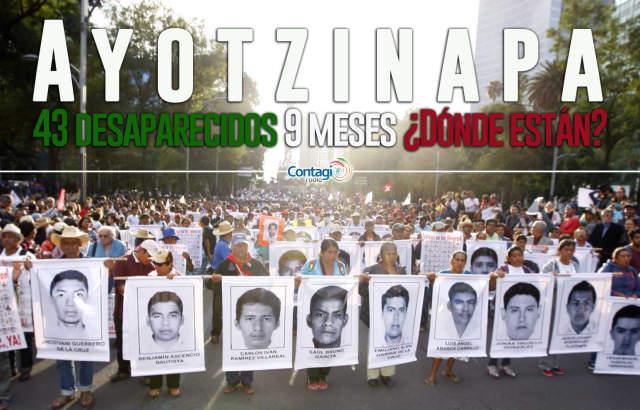 Se cumplen 9 meses de la desaparición de 43 estudiantes de Ayotzinapa