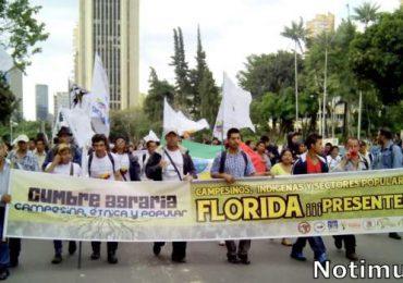 """Cumbre Agraria prepara jornada de movilizaciones tras """"vagas respuestas del gobierno"""""""