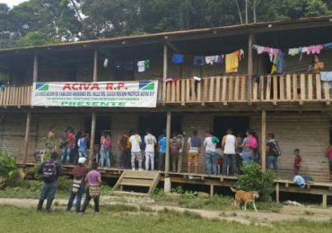600 Indígenas de la zona rural de Buenaventura bloquean via Cali-Buenaventura