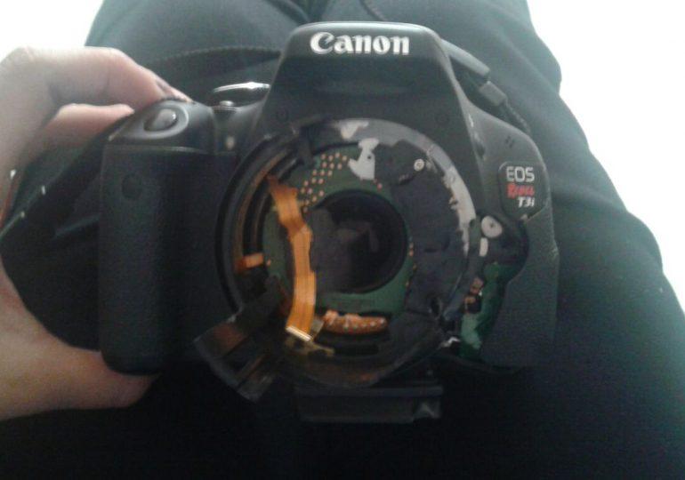 ESMAD dispara contra estudiantes, jóvenes reporteros y periodistas