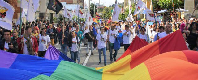 Así fue la marcha del orgullo gay en Bogotá