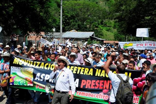 Crisis agropecuaria vuelve a movilizar campesinos colombianos