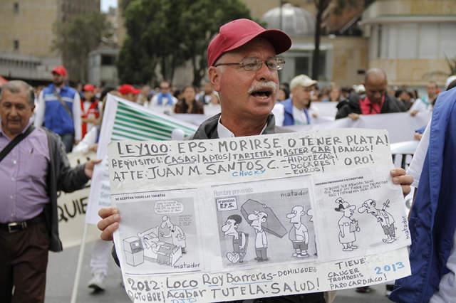 Los colombianos no tenemos cabeza,  El Pos según la EPS