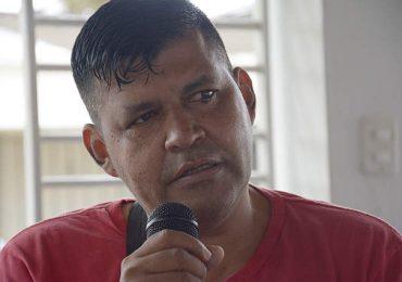 """""""Acá y donde sea estaremos luchando por los derechos de las comunidades"""" Wilmar Madroñedo"""