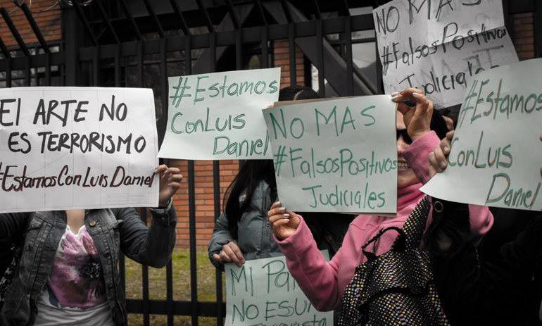 Sin argumentos sólidos legalizan captura de 13 líderes sociales