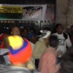 Etnoeducadores se toman iglesia en Bogotá
