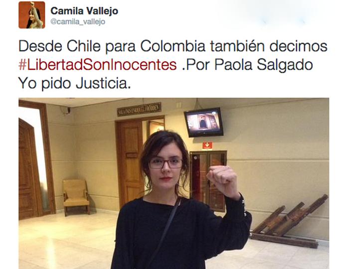Nuevo apoyo nacional e internacional a jóvenes capturados del Congreso de los Pueblos