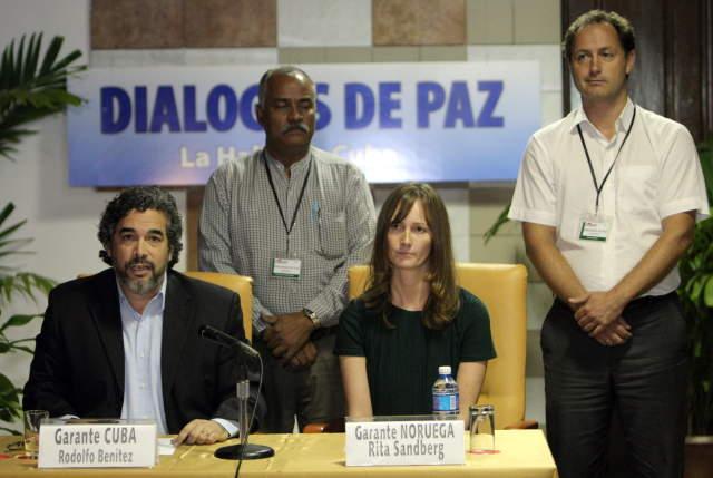 Cuba y Noruega reiteran su apoyo al Proceso de Paz