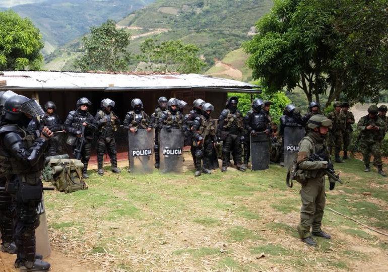 Autoridades Tradicionales denuncian agresiones de la Policia en Putumayo