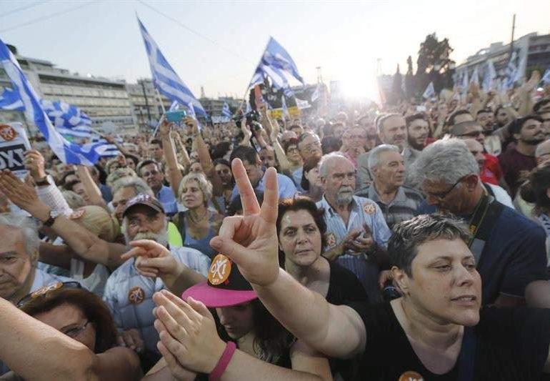 """""""Grecia demuestra que se puede pasar de la movilización social a la política y ganar"""""""