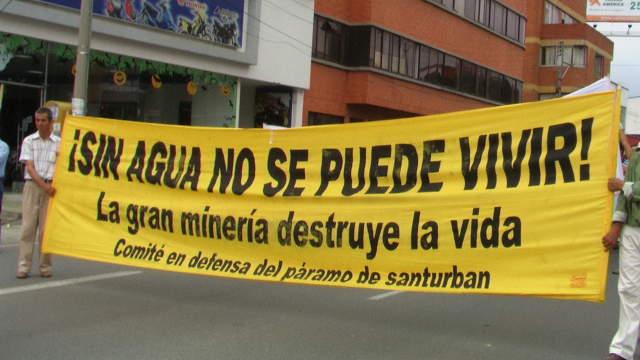 Por derecho al agua se interpone tutela para defender páramo de Santurbán