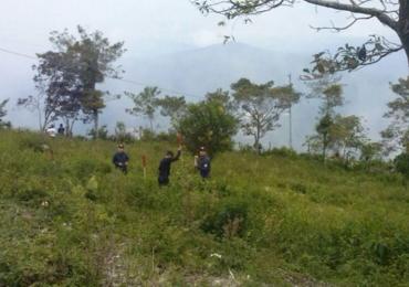 Así se adelanta proceso de desminado humanitario en El Orejón, Antioquia