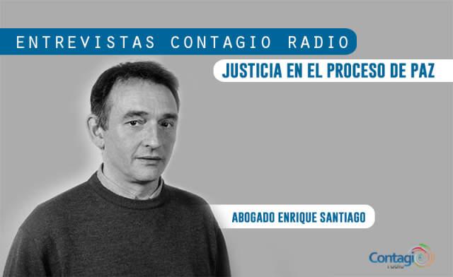 Entrevista con Enrique Santiago: Justicia en el Proceso de Paz