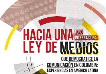 Foro Internacional por la democratización de la comunicación en Colombia