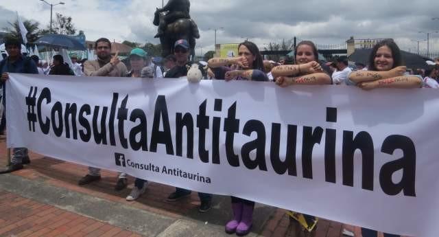 Consulta Antitaurina en Bogotá se realizaría el 13 de Agosto