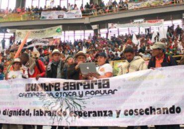 Empezaron movilizaciones campesinas tras dos años de incumplientos del gobierno