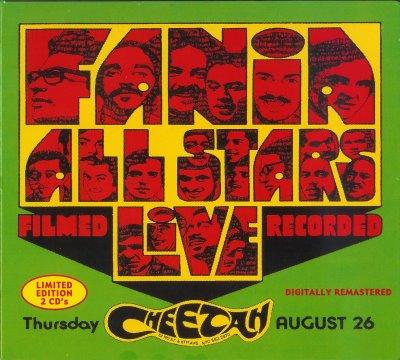 Fania All Stars - Live at the Cheetah COVER