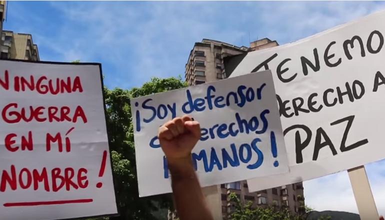 """""""Los Nadies"""" 399 casos de agresión a defensores de DDHH en 2015"""