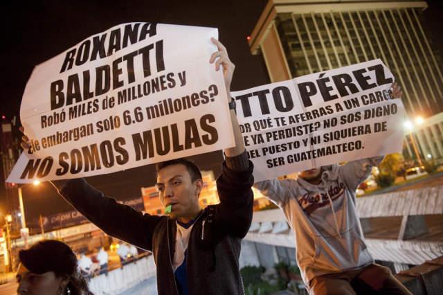 Habrá paro general en Guatemala para exigir cárcel para presidente Pérez Molina