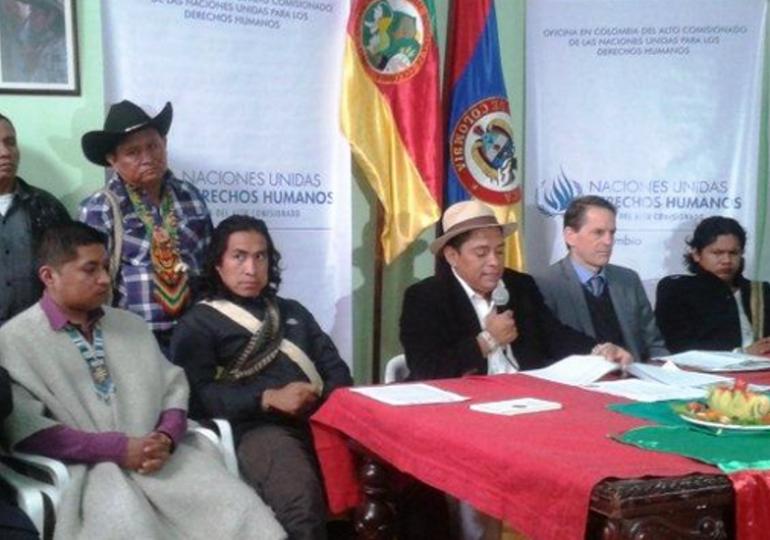 Más de 4 mil agresiones contra pueblos indígenas en Colombia durante 2014