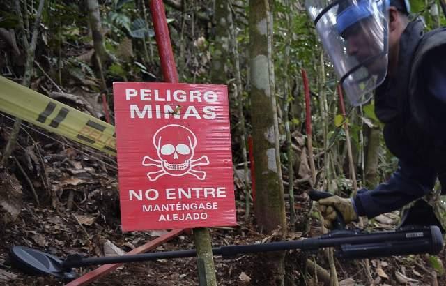 Acciones paramilitares obligan a suspender desminado humanitario en El Orejón
