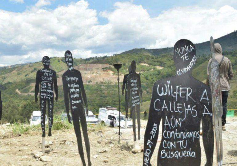 """Víctimas exigen garantías de seguridad para excavaciones en """"La Escombrera"""""""