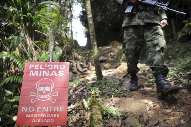 Para 2021 territorio colombiano estaría libre de minas