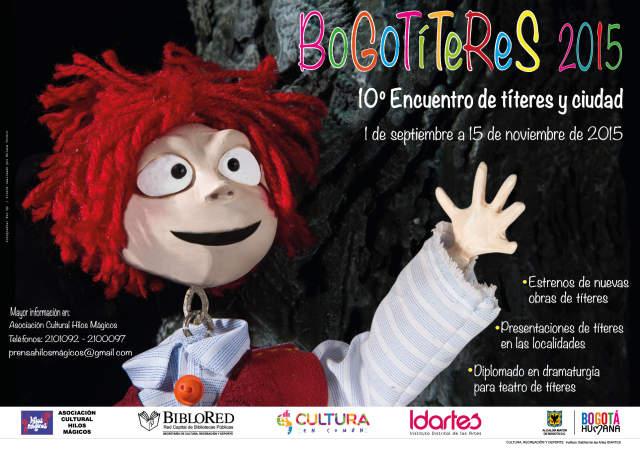 Llega Bogotíteres, 19 funciones con entrada libre para grandes y chicos