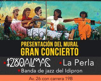 """Con presentación de las 1280 almas se inaugurará el mural """"La paz es ahora"""""""