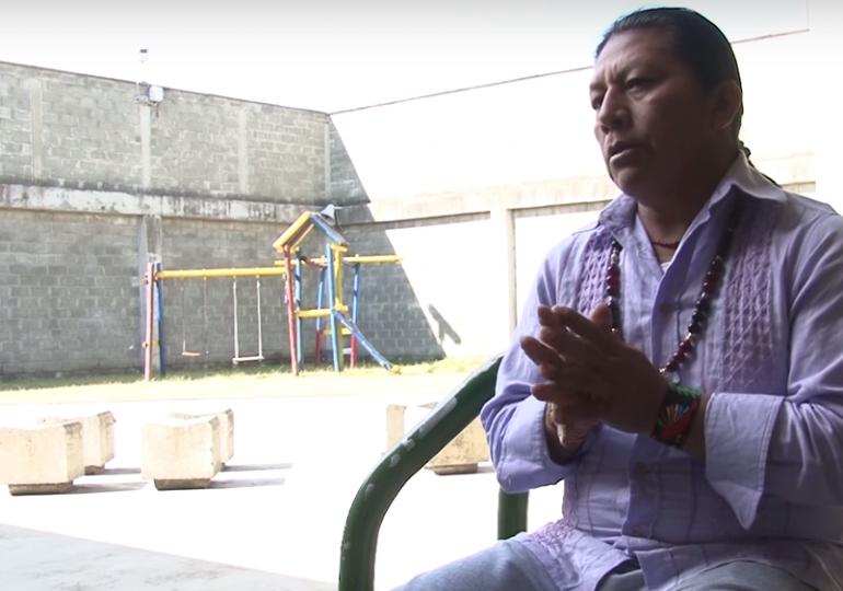 Primeras declaraciones de Feliciano Valencia desde la cárcel