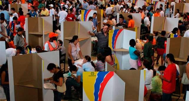 En 487 municipios del país existe riesgo electoral