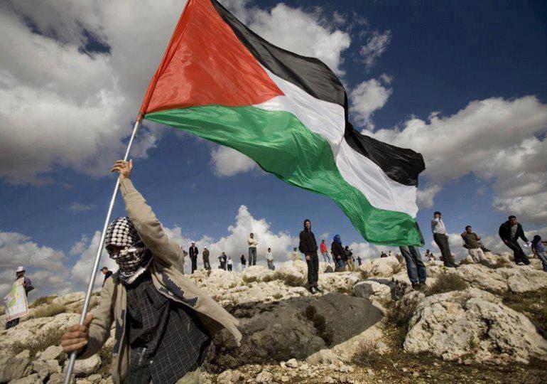Palestina iza su bandera en sede de la ONU
