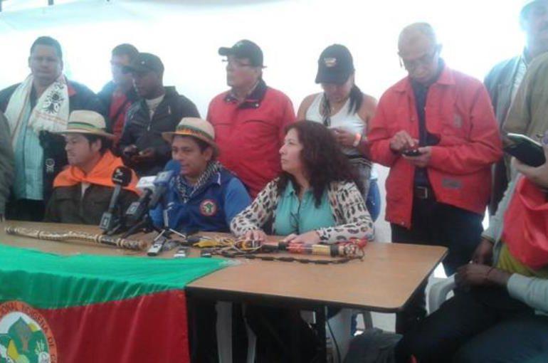 Cumbre Agraria se toma Bogotá de manera permanente hasta que el gobierno cumpla
