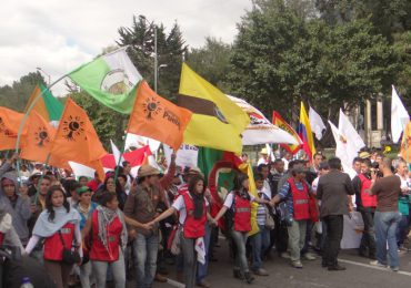 En Fotos: Así fue la jornada de #Agroindignados en Bogotá