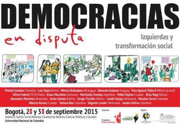 """""""Democracias en disputa, izquierdas y transformación social"""""""