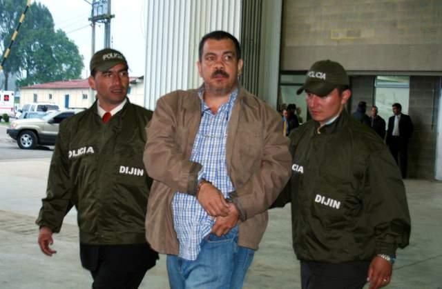 """""""Don Berna"""" vincula con las AUC a Del Río, Plazas Acevedo, Santoyo, Narváez y Hernández"""
