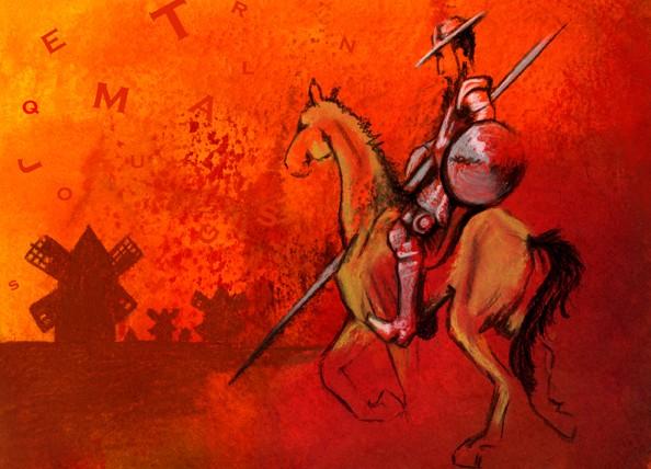 Recordando al Quijote de Cervantes