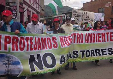 Municipio de Tabio marcha este domingo en defensa de reserva forestal