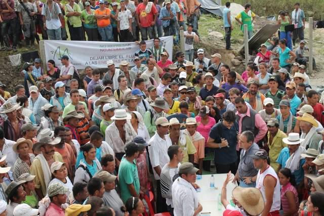 Movimiento Ríos Vivos suspende bloqueos en Hidroituango pero continúa la movilización