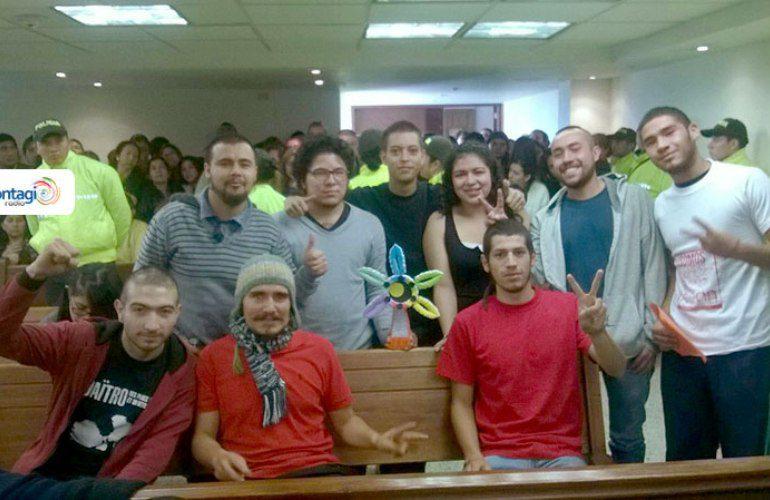 Ordenan libertad a los 13 jóvenes capturados en Bogotá