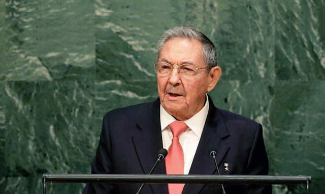 Raúl Castro propone reforma de la ONU
