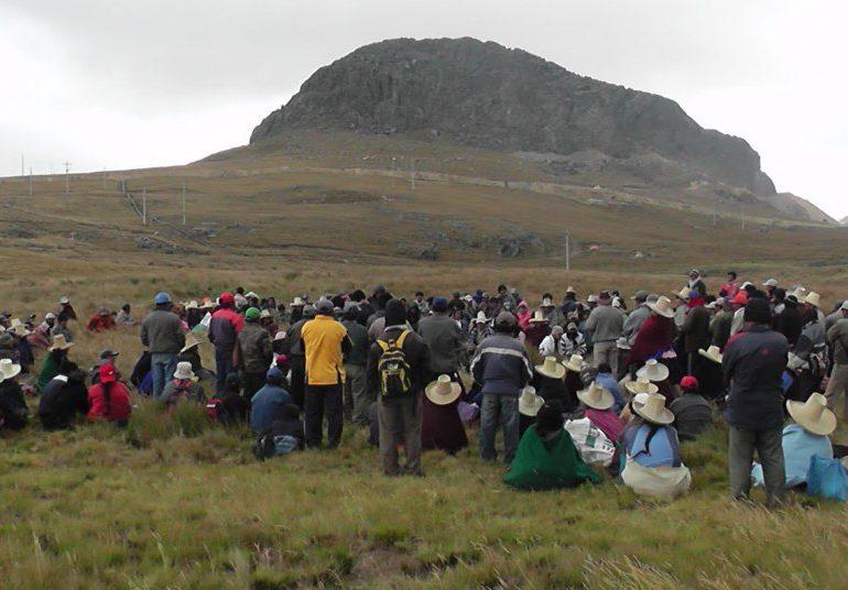 Empresa minera contaminó con arsénico la sangre de los pobladores de Cajamarca, Perú