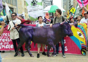 """Ciudadanía bogotana marchó por los animales y contra la """"Estocada a la democracia"""""""