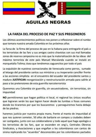 Aguilas negras 1