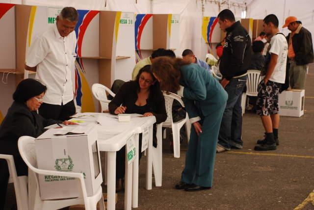 Testigos electorales denuncian fraude en comicios de Sibaté
