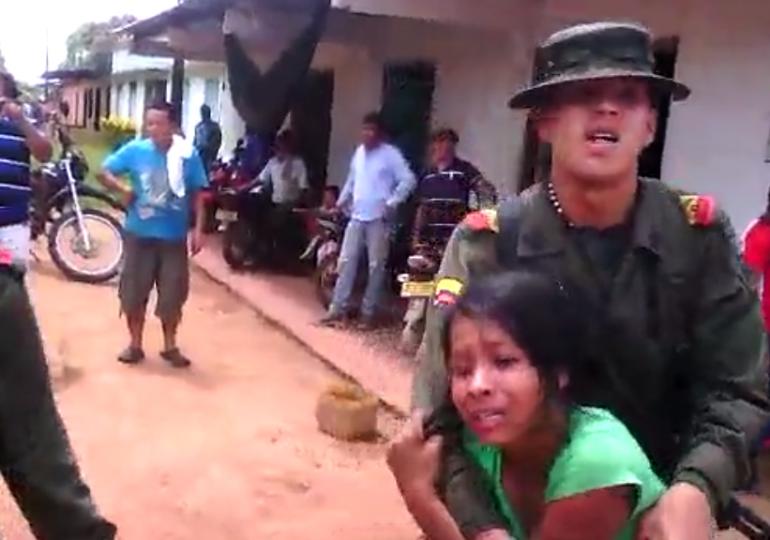 En Mapiripán reprimen la protesta pero no atienden denuncias de delitos electorales