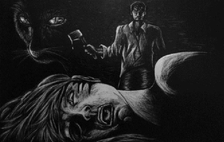 """""""El Gato Negro"""", 166 años sin Poe"""
